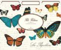 Vintage Butterflies File Folders (Set of 12)